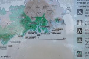 Lillfjärdenin kartta