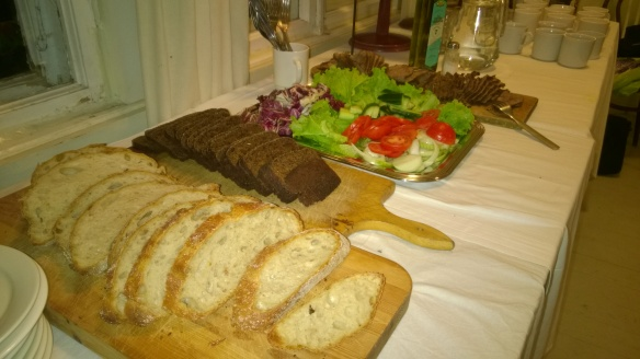 Labbyn paistia ja saaristolaisleipää